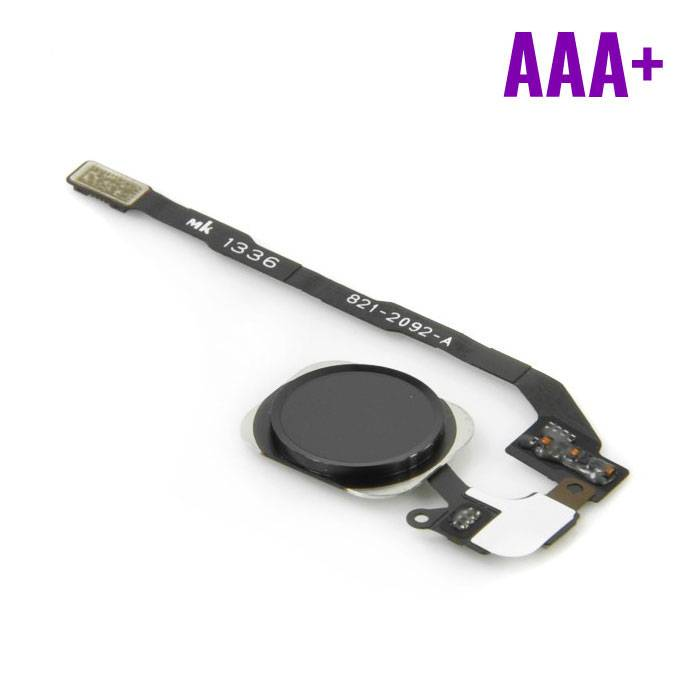 Apple iPhone 5C - AAA + Home Button Flex Cable Assembly Black