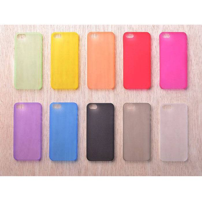 Transparent Clear Silicone Case Cover TPU Case in 10 shades iPhone 4 4S