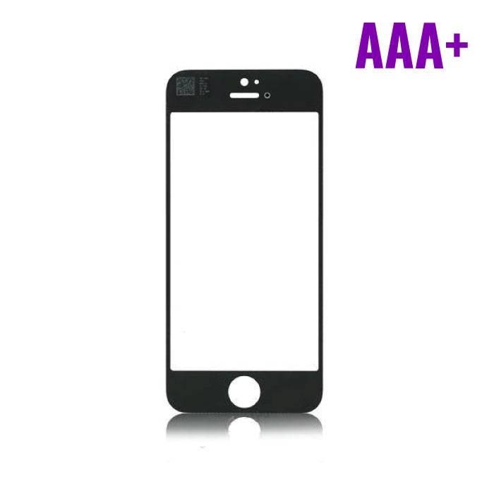 iPhone 4/4S Frontglas Glas Plaat AAA+ Kwaliteit - Zwart