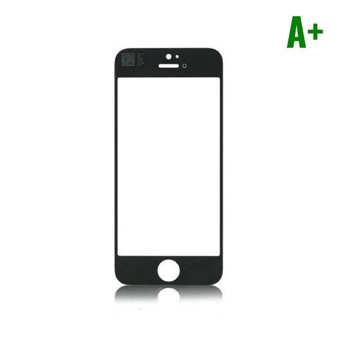 iPhone 4/4S Frontglas A+ Kwaliteit - Zwart
