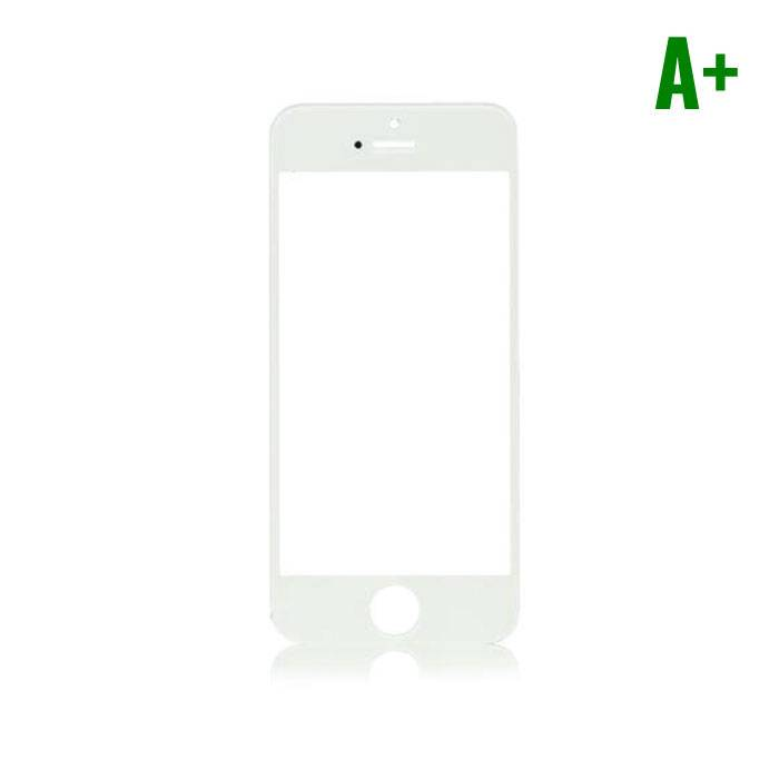 iPhone 5 / 5C / 5S / SE Front Glass A + Quality - White