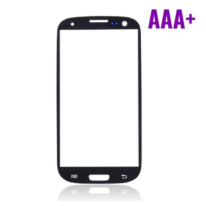 Samsung Galaxy S3 i9300 Frontglas AAA+ Kwaliteit - Zwart