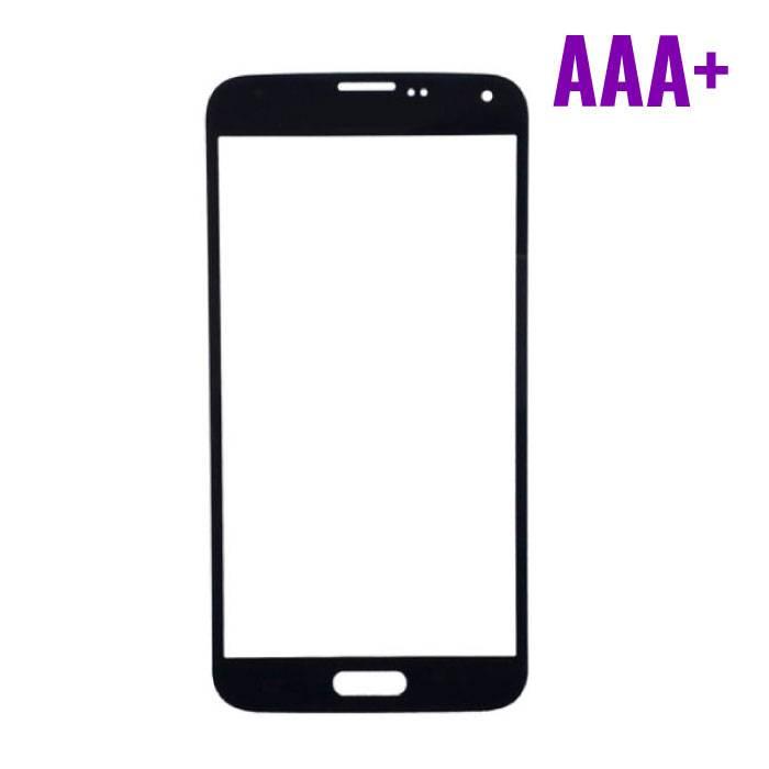 Samsung Galaxy S5 i9600 Frontglas Glas Plaat AAA+ Kwaliteit - Zwart