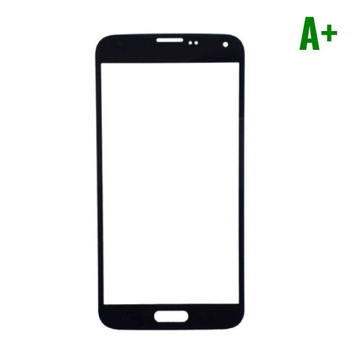 Samsung Galaxy S5 i9600 A + Quality Front Glass - Black