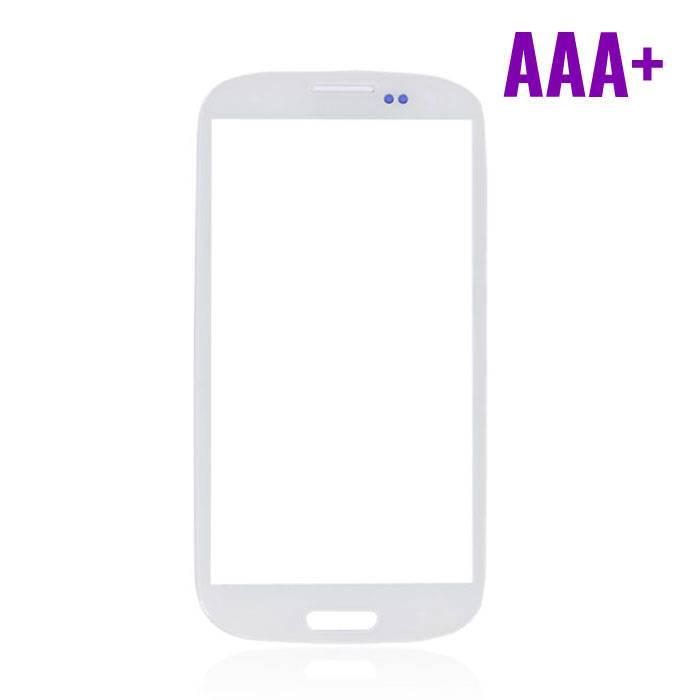 Samsung Galaxy S3 i9300 Frontglas AAA+ Kwaliteit - Wit