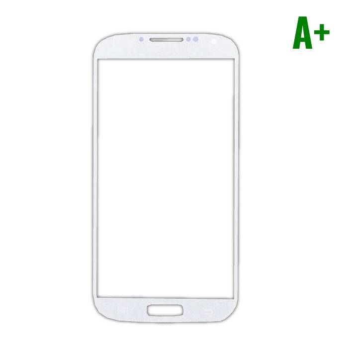 Samsung Galaxy S4 i9500 A + Quality Front Glass - White