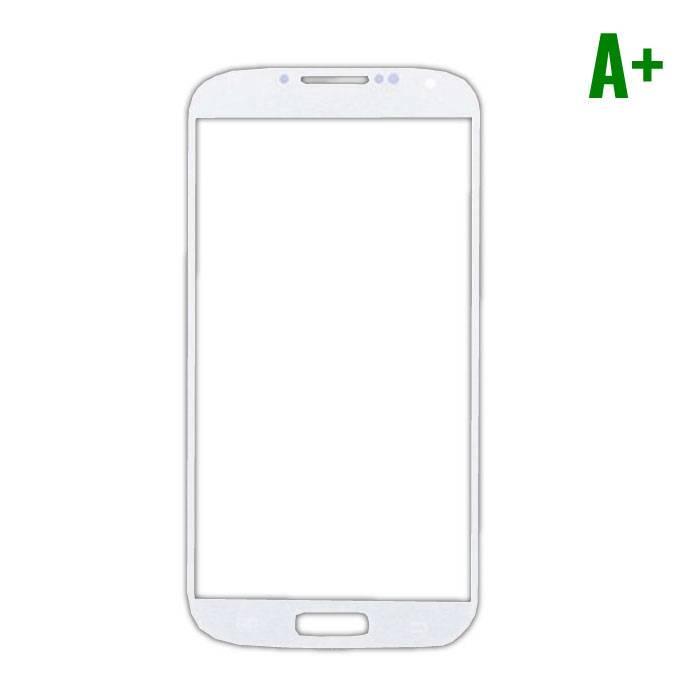 Samsung Galaxy S4 i9500 Glas Plaat Frontglas A+ Kwaliteit - Wit