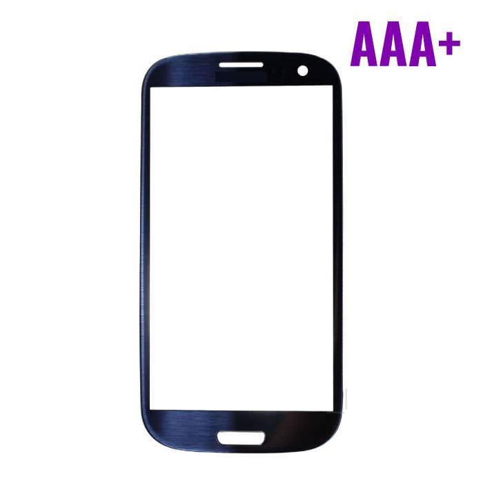 Samsung Galaxy S3 i9300 Frontglas AAA+ Kwaliteit - Blauw