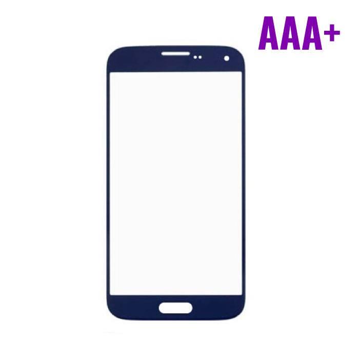 Samsung Galaxy S5 i9600 Frontglas AAA+ Kwaliteit - Blauw
