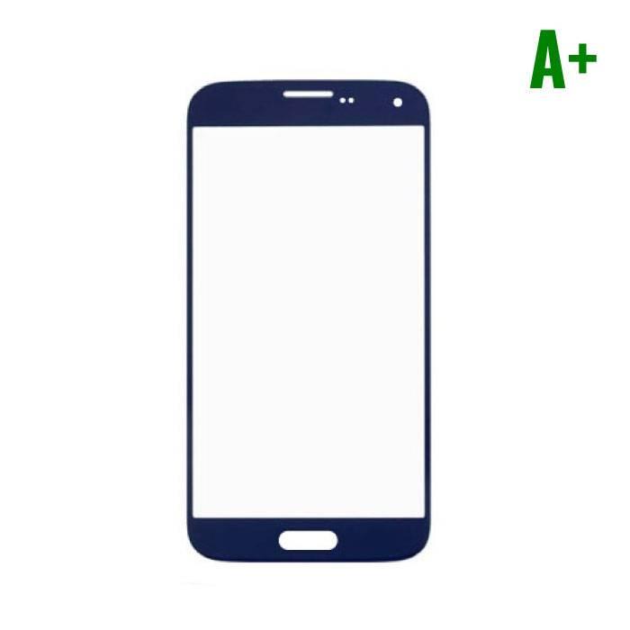 Samsung Galaxy S5 i9600 Frontglas A+ Kwaliteit - Blauw