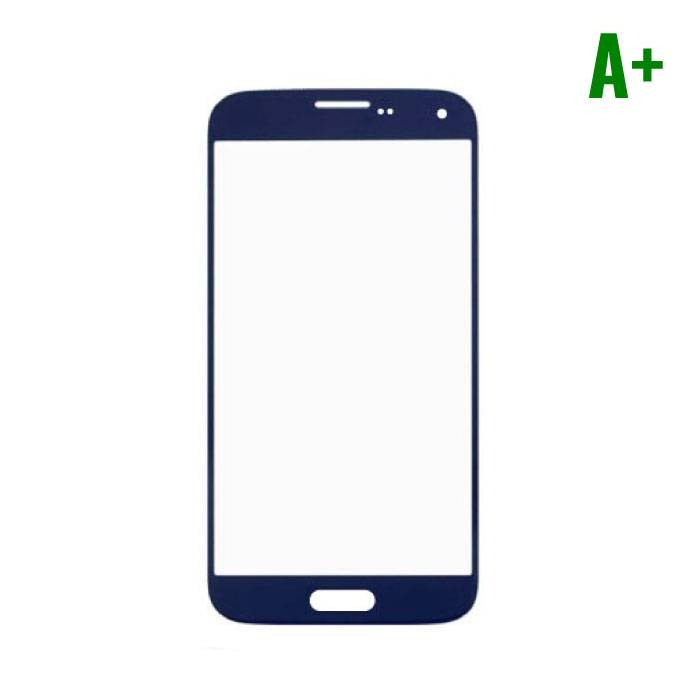 Samsung Galaxy S5 i9600 Glas Plaat Frontglas A+ Kwaliteit - Blauw