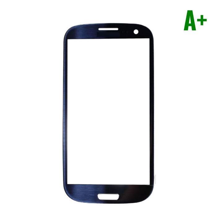 Samsung Galaxy S3 i9300 Frontglas A+ Kwaliteit - Blauw