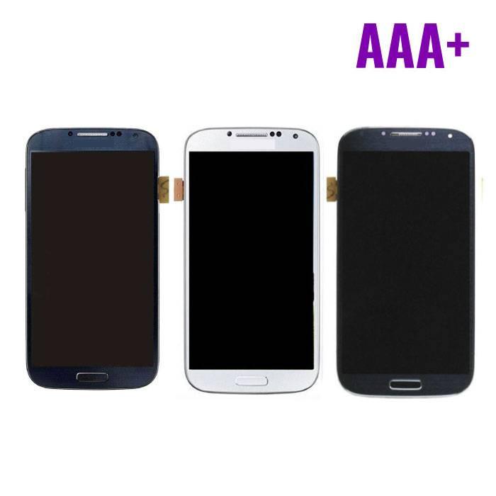 Samsung Galaxy S4 I9500 Scherm (Touchscreen + LCD) AAA+ Kwaliteit - Blauw/Zwart/Wit