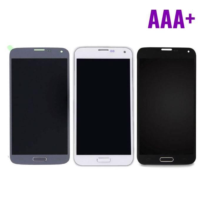 Samsung Galaxy S5 I9600 Scherm (Touchscreen + LCD) AAA+ Kwaliteit - Blauw/Zwart/Wit