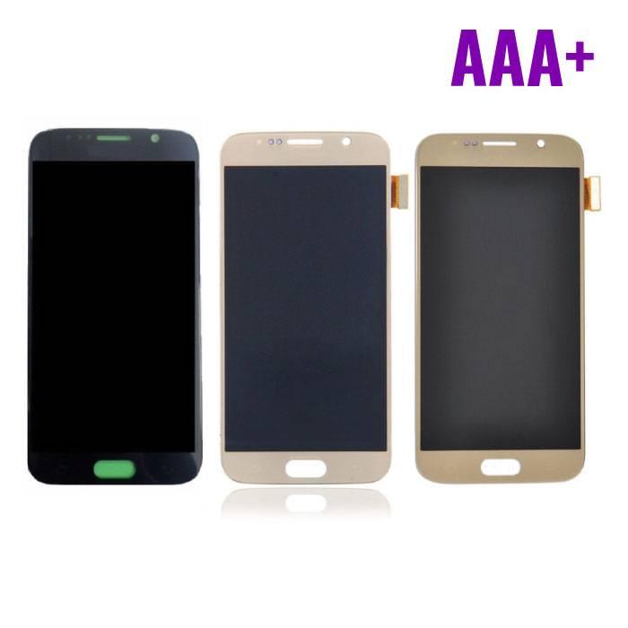 Samsung Galaxy S6 screen (Touchscreen + LCD + Onderdelen) AAA+ Quality - Black/White/Gold