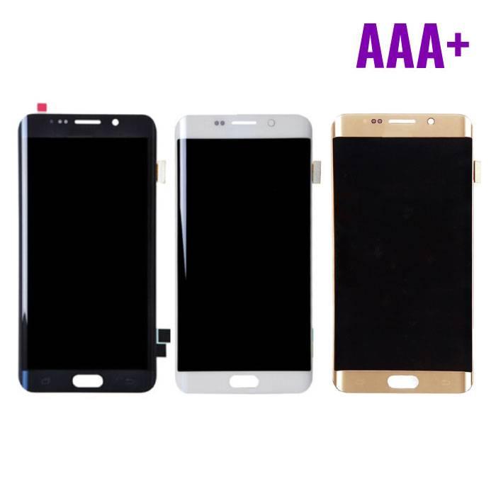 Samsung Galaxy S6 Edge Scherm (Touchscreen + LCD + Onderdelen) AAA+ Kwaliteit - Zwart/Wit/Goud