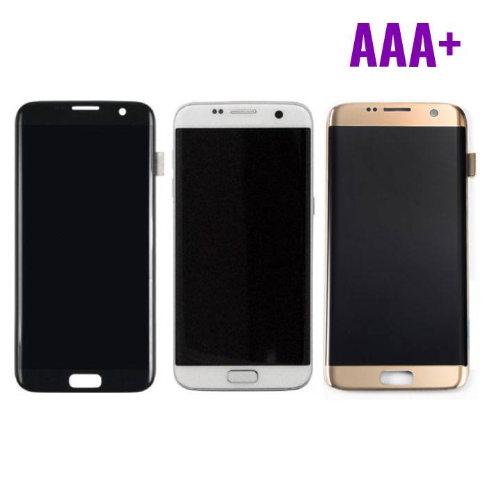 Samsung Galaxy S7 Edge Display (LCD + Touchscreen) AAA + Quality - Black/White/Gold
