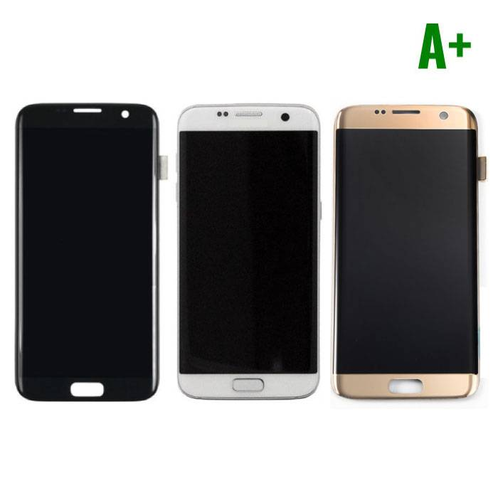 Samsung Galaxy S7 Edge Scherm (Touchscreen + LCD) A+ Kwaliteit - Zwart/Wit/Goud