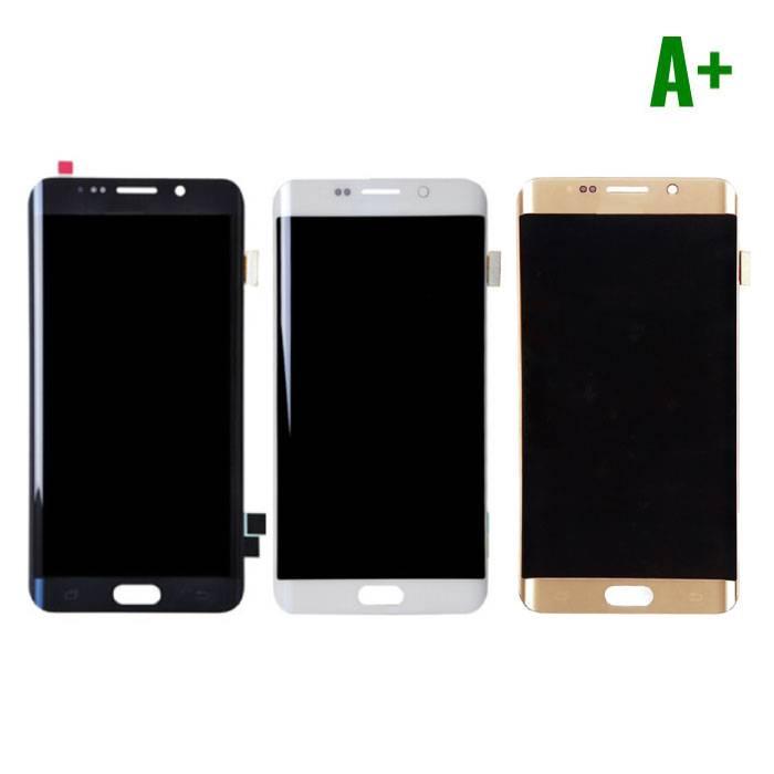 Samsung Galaxy S6 Edge Scherm (Touchscreen + LCD + Onderdelen) A+ Kwaliteit - Zwart/Wit/Goud