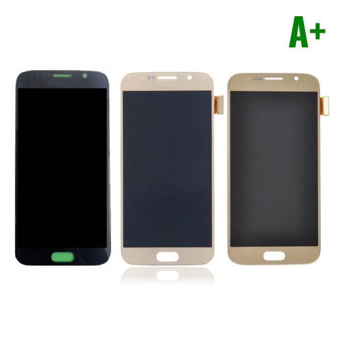 Samsung Galaxy S6 screen (Touchscreen + LCD + Onderdelen) A+ Quality - Black/White/Gold