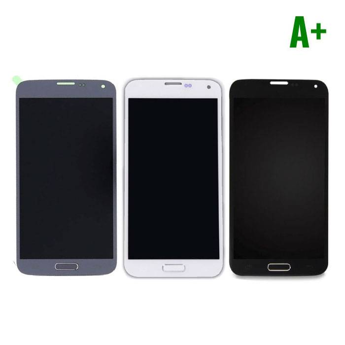 Samsung Galaxy S5 I9600 Screen (LCD + Touch Screen + Parts) A + Quality - Blue / Black / White