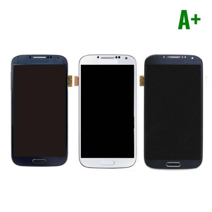 Samsung Galaxy S4 I9500 Scherm (Touchscreen + LCD) A+ Kwaliteit - Blauw/Zwart/Wit