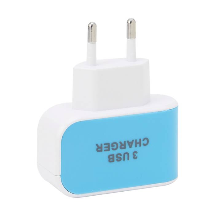 Stuff Certified ® 10-Pack Triple (3x) USB Port iPhone/Android Muur Oplader Wallcharger