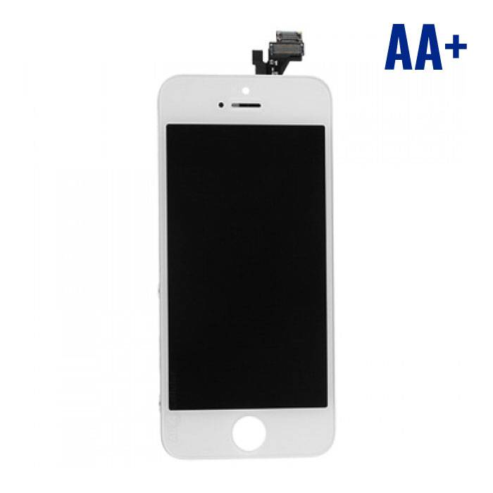 iPhone 5 Screen (LCD + Touch Screen + Parts) AA + Quality - White