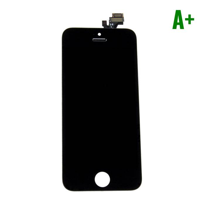 iPhone 5 Screen (Touchscreen + LCD + Onderdelen) A+ Quality - Black