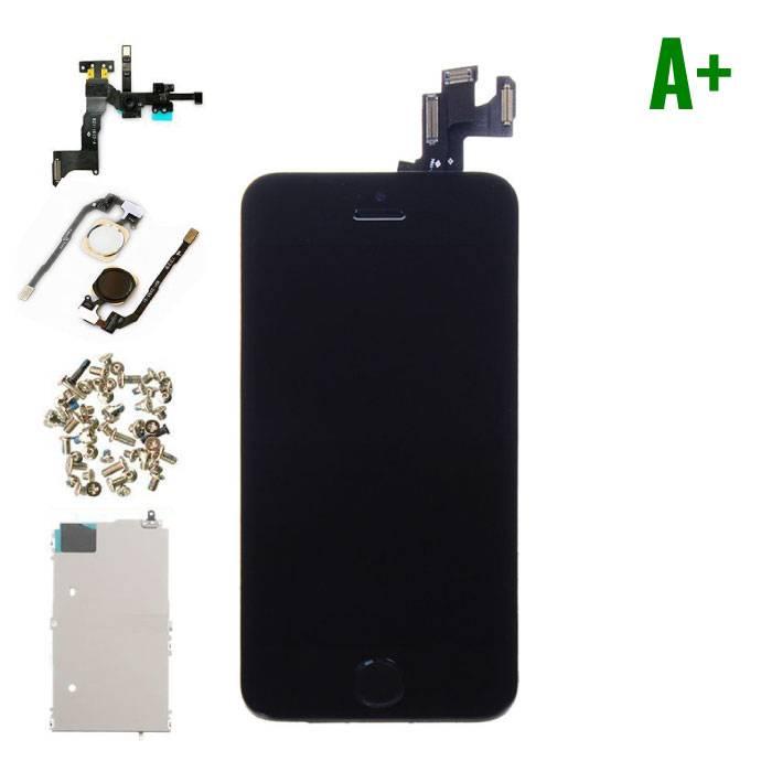 iPhone 5S Voorgemonteerd Scherm (Touchscreen + LCD) A+ Kwaliteit - Zwart