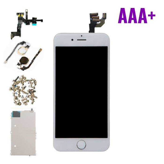 "iPhone 6 4.7 ""Front Mounted Display (LCD + Touch Screen + Parts) AAA + Quality - White"