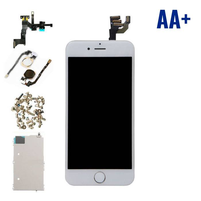 """iPhone 6 4.7 """"Front Mounted Display (LCD Touchscreen +) AA+ Quality - White"""