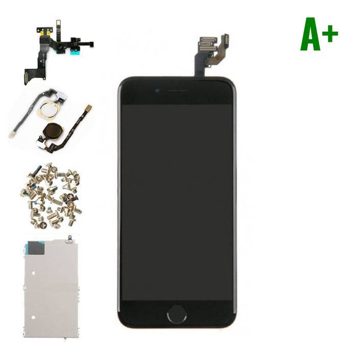 "iPhone 6 4.7 ""Front Mounted Display (LCD + Touch Screen + Parts) A + Quality - Black"