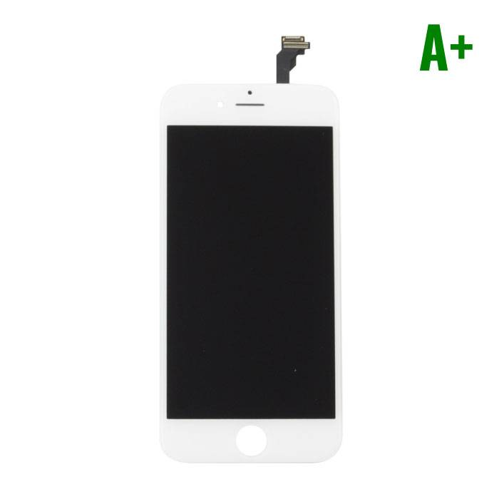 """iPhone 6 4.7 """"screen (Touchscreen + LCD + Onderdelen) A+ Quality - White"""
