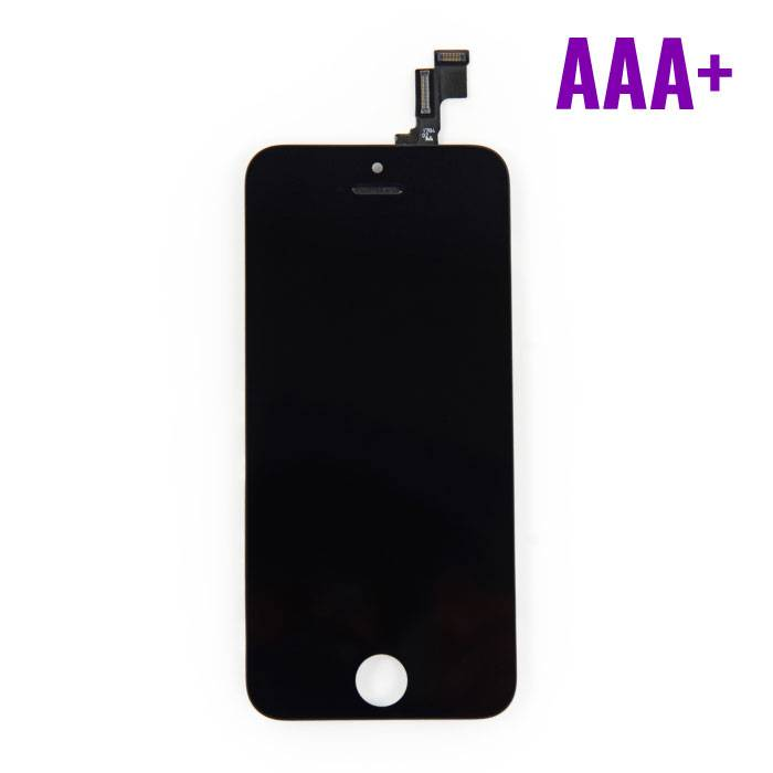 iPhone SE / 5S screen (Touchscreen + LCD + Parts) AAA + Quality - Black