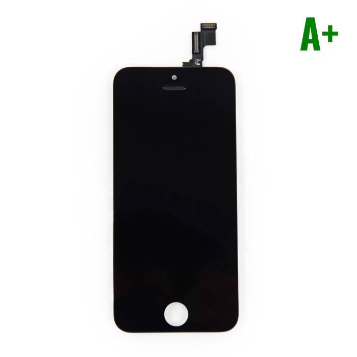 iPhone SE/5S Scherm (Touchscreen + LCD) A+ Kwaliteit - Zwart