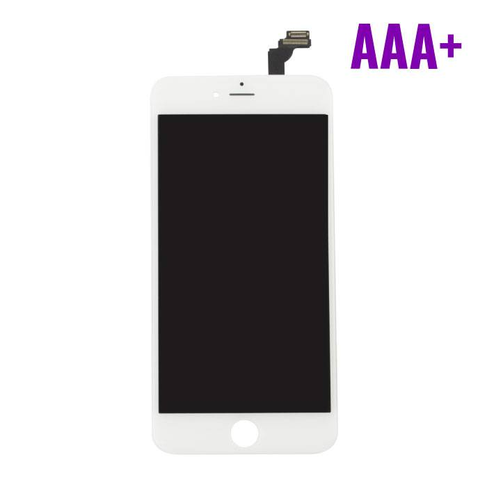 iPhone 6 Plus screen (Touchscreen + LCD + Onderdelen) AAA+ Quality - White