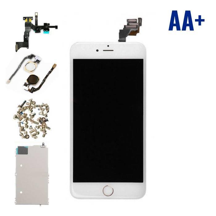 iPhone 6 Plus Voorgemonteerd Scherm (Touchscreen + LCD + Onderdelen) AA+ Kwaliteit - Wit