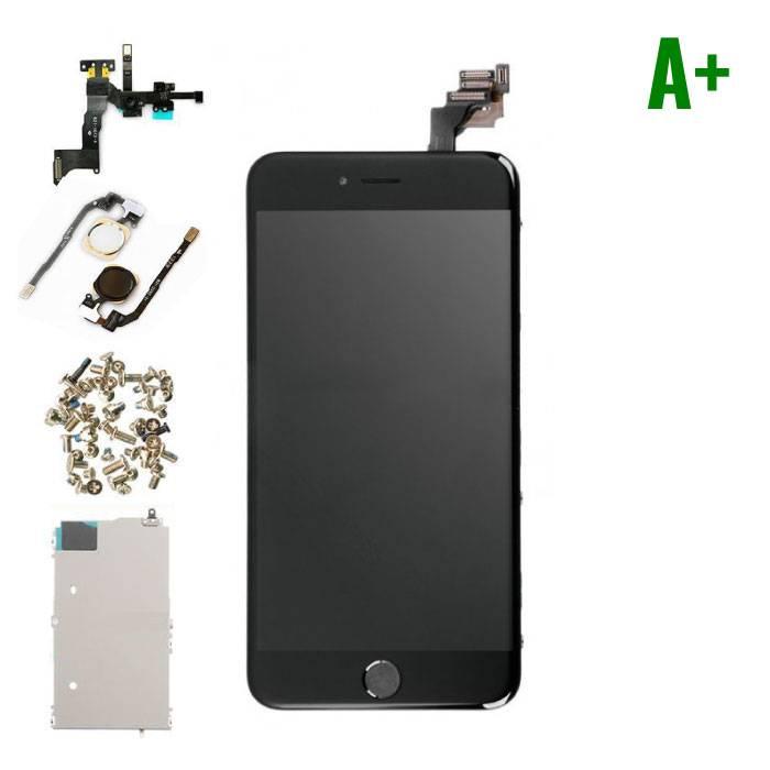iPhone 6 Plus Voorgemonteerd Scherm (Touchscreen + LCD + Onderdelen) A+ Kwaliteit - Zwart