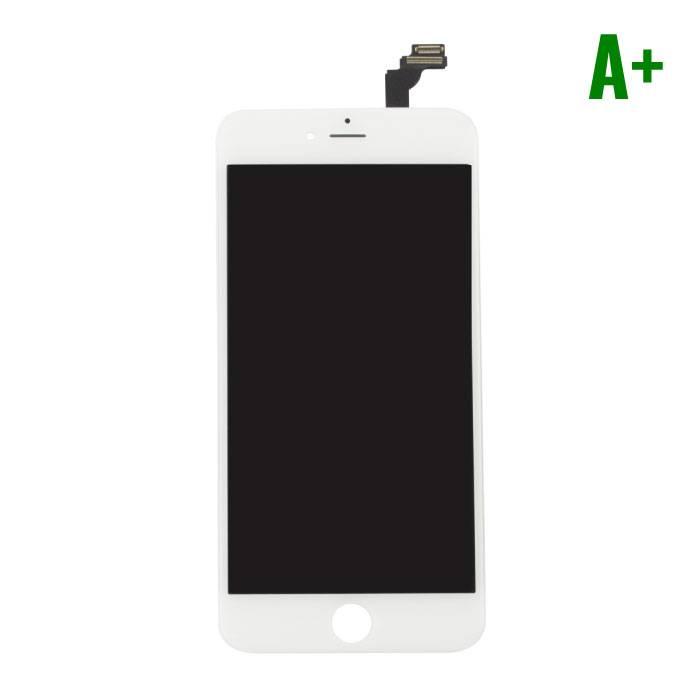 iPhone 6 Plus Scherm (Touchscreen + LCD + Onderdelen) A+ Kwaliteit - Wit