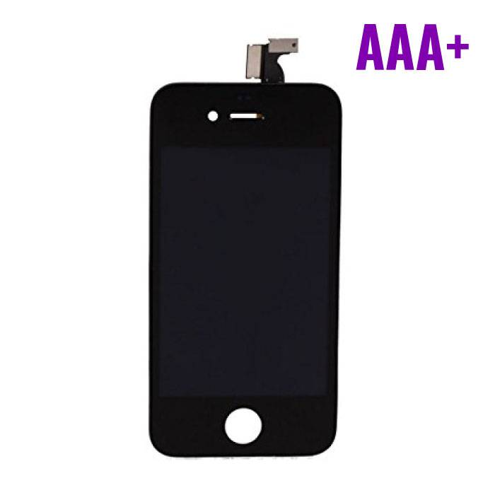 iPhone 4 Display (Touchscreen + LCD + Onderdelen) AAA+ Quality - Black