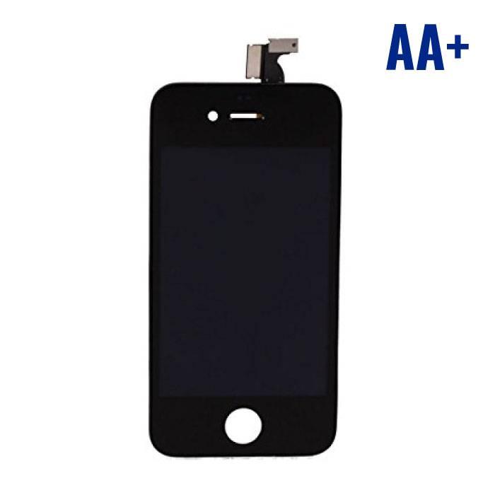 iPhone 4 Scherm (Touchscreen + LCD + Onderdelen) AA+ Kwaliteit - Zwart