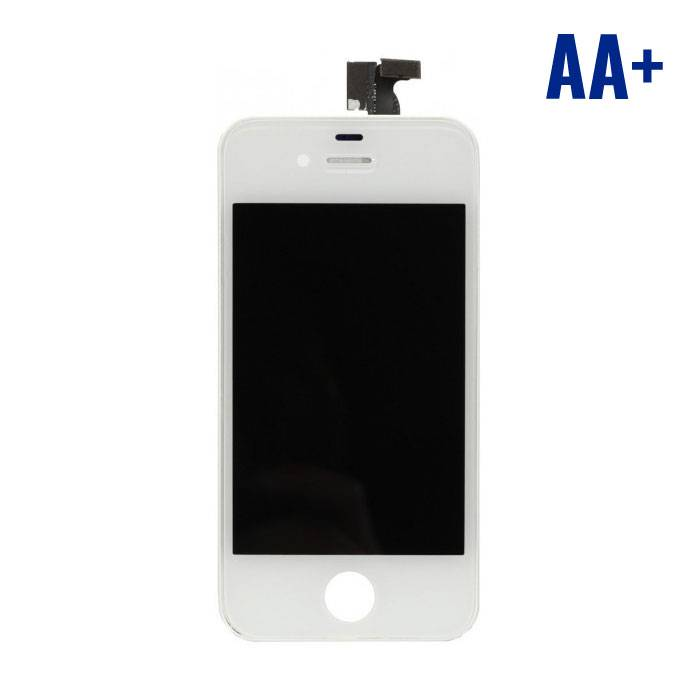 iPhone 4S Screen (Touchscreen + LCD + Onderdelen) AA + Quality - White