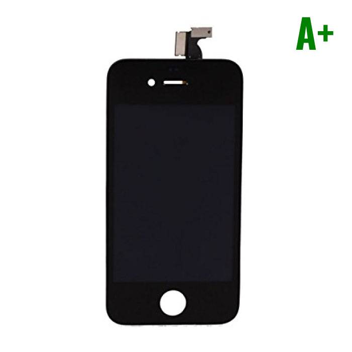 iPhone 4 Display (Touchscreen + LCD + Onderdelen) A+ Quality - Black