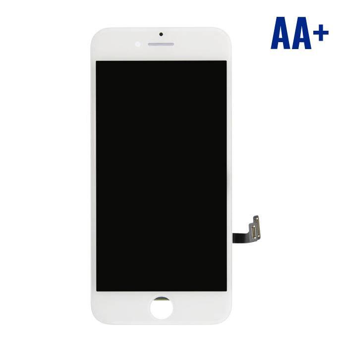 7 iPhone screen (Touchscreen + LCD + Onderdelen) AA + Quality - White