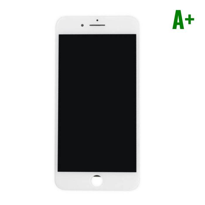 iPhone 7 Plus Scherm (Touchscreen + LCD + Onderdelen) A+ Kwaliteit - Wit