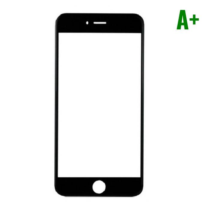 iPhone Plus 8 A+ Quality Front Glass - Black