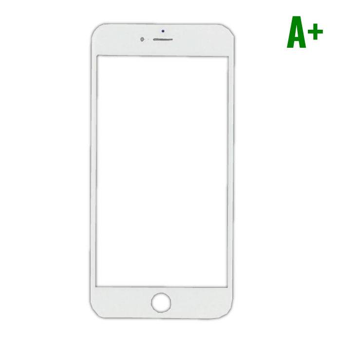 iPhone Plus 8 A+ Quality Front Glass - White