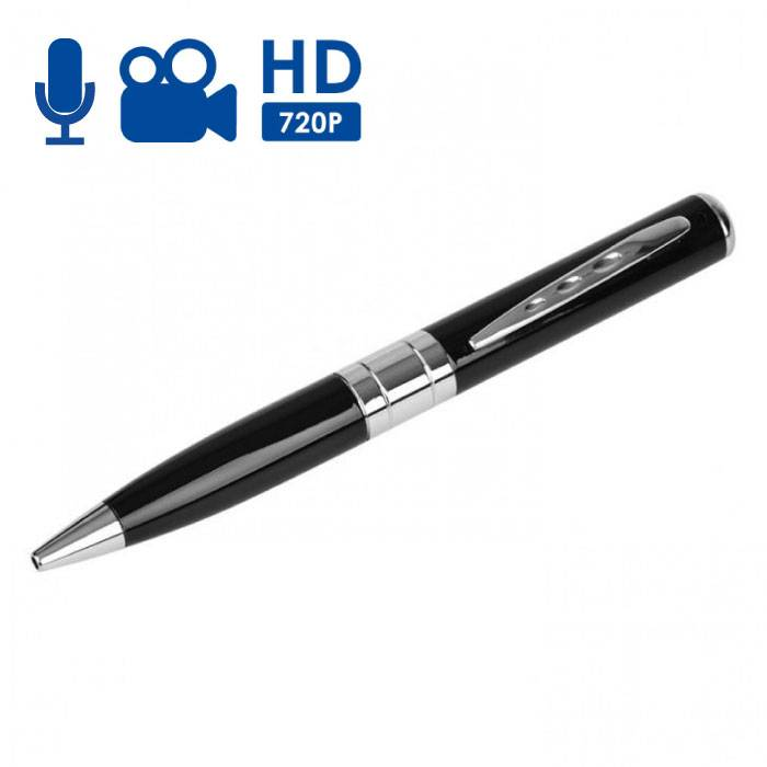 Spycam Pen caméra cachée avec microphone - HD