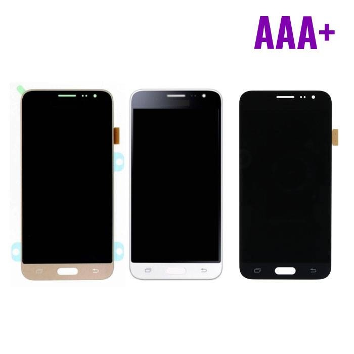 Samsung Galaxy J3 2016 Display (LCD + Touch Screen + Parts) AAA + Quality - Black / White / Gold